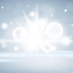Sparkling lights product background